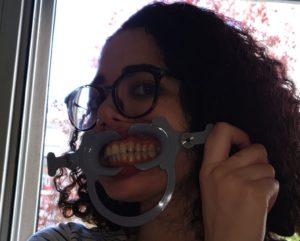 photos taken in dental monitoring that are too dark