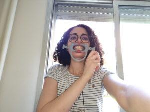 photo in dental monitoring taken too far away