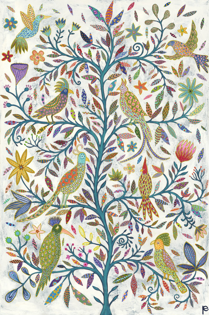 Tree of Life painting by Eliza Piro