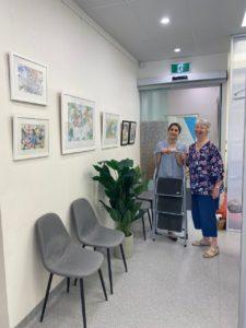 artist in residence transform orthodontic care Anne Johnson